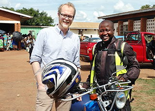 Professor Jónasson in Malawi